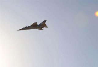 Army fighter crashes in Iran's central province (PHOTO)