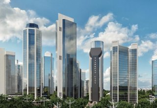 Mayor lures investors to build big downtown with giant towers in Tashkent