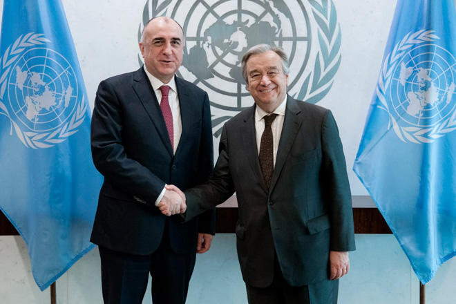 Azerbaijani FM: Int'l efforts need to be increased to ensure Armenia's withdrawal from Azerbaijan's occupied lands