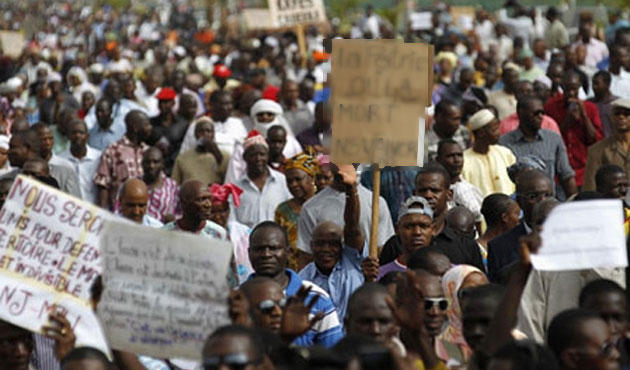 16 injured in protest march ahead of election in Mali