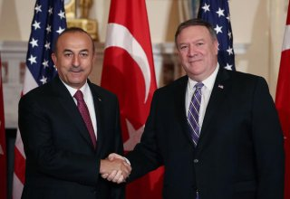 Top Turkish, US diplomats discuss Mideast over phone