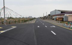 President Aliyev opens reconstructed highway in Goranboy (PHOTO) - Gallery Thumbnail