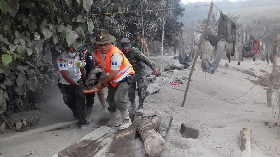Guatemalan families continue search for victims after volcano eruption