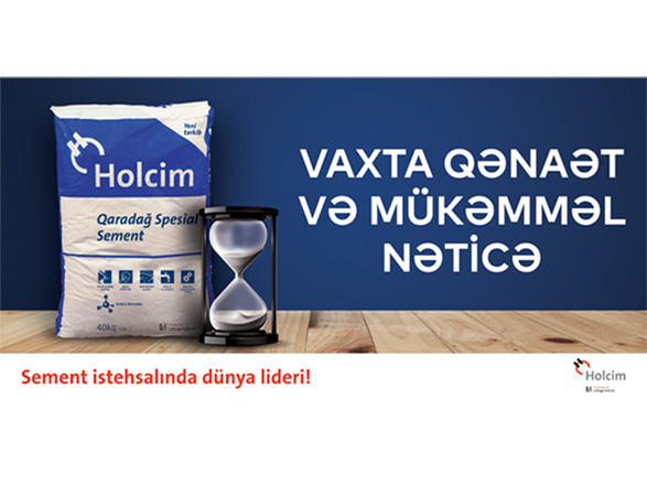Holcim Azerbaijan presents new unique product - new Spesial 400 to construction market