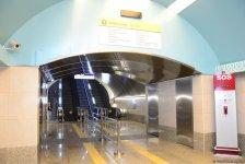 Станция «Сахиль» после ремонта и реконструкции (ФОТО) - Gallery Thumbnail