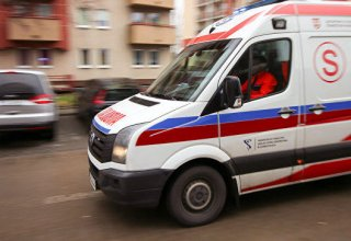Three dead, seven wounded in road collision in Poland