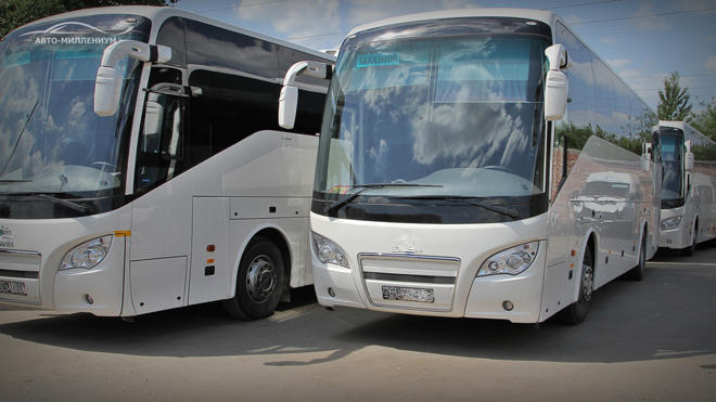 Uzbekistan launches regular bus service to Moscow