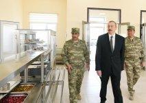 President Aliyev inaugurates Defense Ministry's military unit (PHOTO) - Gallery Thumbnail