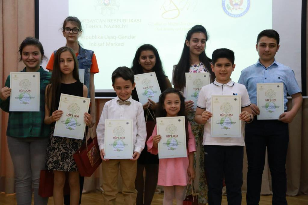 Winners of competition dedicated to Earth Day announced in Baku (PHOTO)