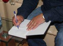 Я люблю пошутить… - в Баку прошла встреча с известным писателем (ФОТО) - Gallery Thumbnail