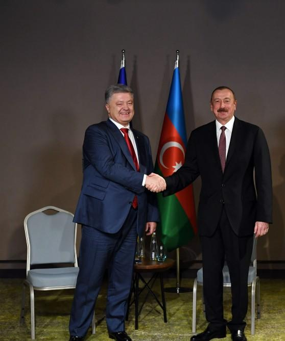 Presidents of Azerbaijan, Ukraine meet in Turkey (PHOTO) - Gallery Image