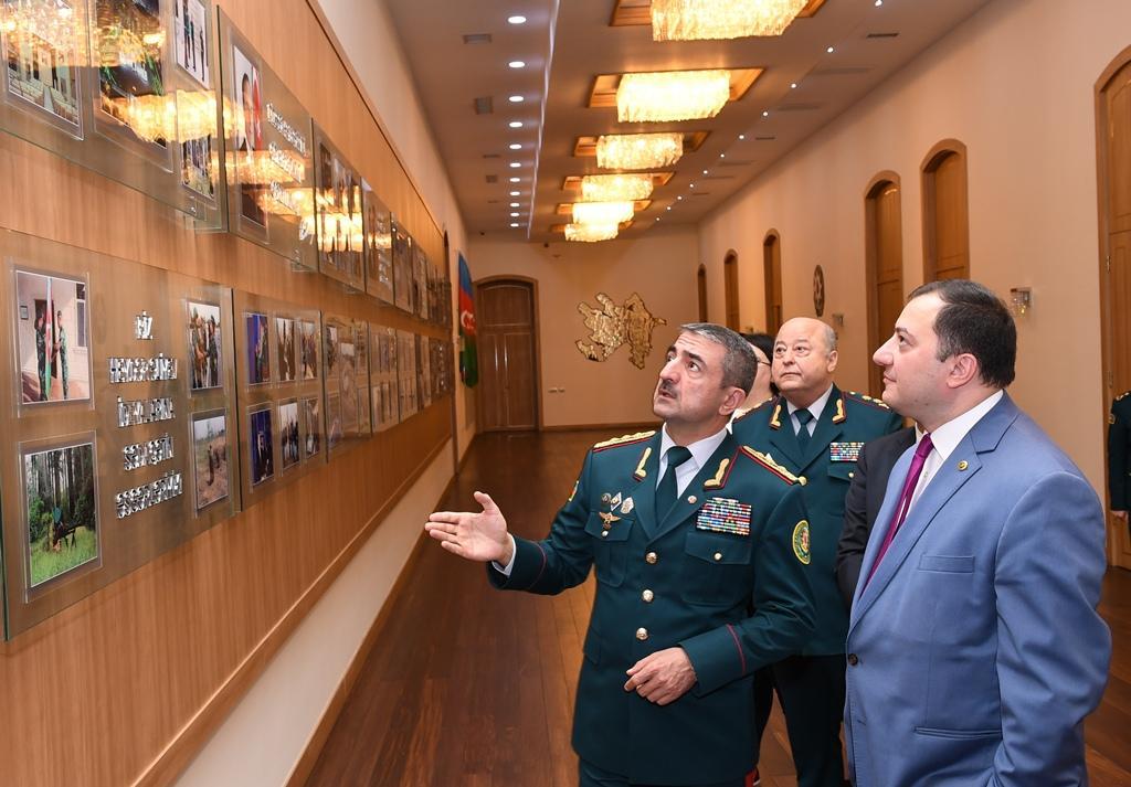 Azərbaycan və Gürcüstan arasında sərhəd komissarlarının fəaliyyəti haqqında saziş imzalanıb (FOTO) - Gallery Image