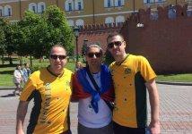 Азербайджанcкие болельщики на чемпионате мира по футболу в России (ФОТО) - Gallery Thumbnail