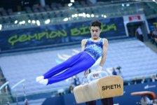 Azərbaycan gimnastları öz çıxışılarından razı qalıblar - Gallery Thumbnail