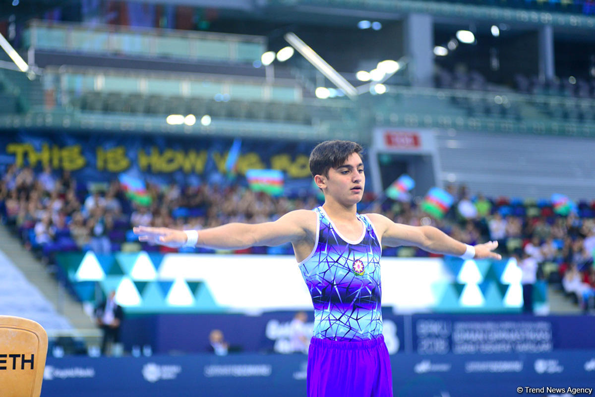 Azerbaijani gymnast qualifies for Buenos Aires 2018 Youth Olympics
