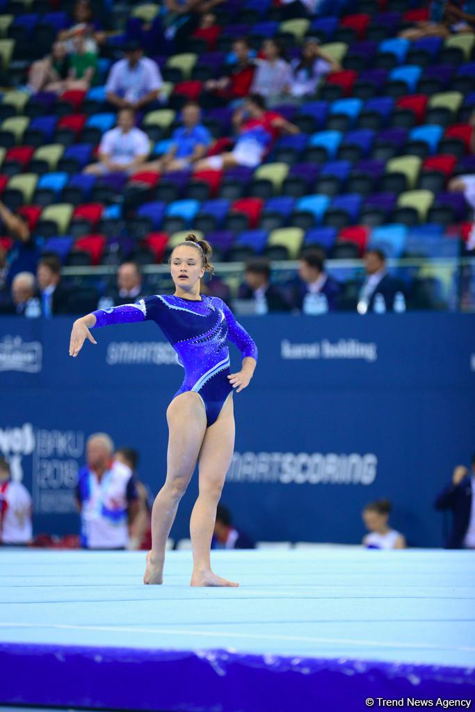 Лучшие моменты квалификации по спортивной гимнастике на юношескую Олимпиаду (ФОТОРЕПОРТАЖ) - Gallery Image