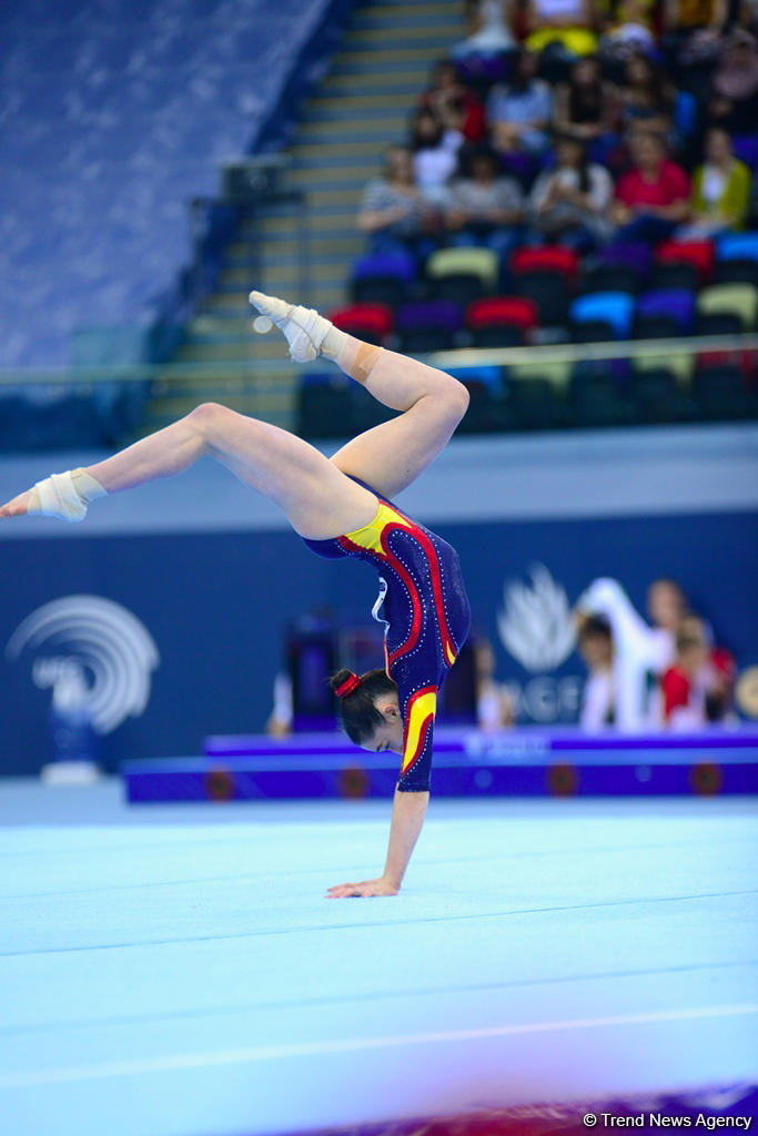 Best moments of UEG YOG Qualifying Competition in Artistic Gymnastics (PHOTO)