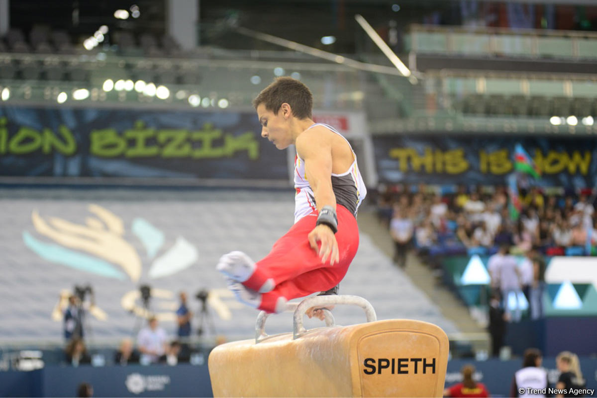 Qualifying gymnastics event for Buenos Aires 2018 Youth Olympics kick off in Baku (PHOTO)