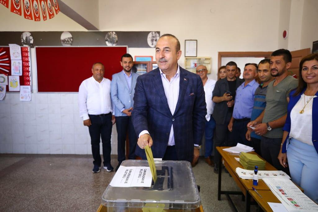 Today's elections are most important in history of Turkey - Foreign Minister