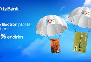 """""""AtaBank"""" ASC Silahlı Qüvvələr Günü münasibəti ilə xüsusi kampaniya keçirir"""