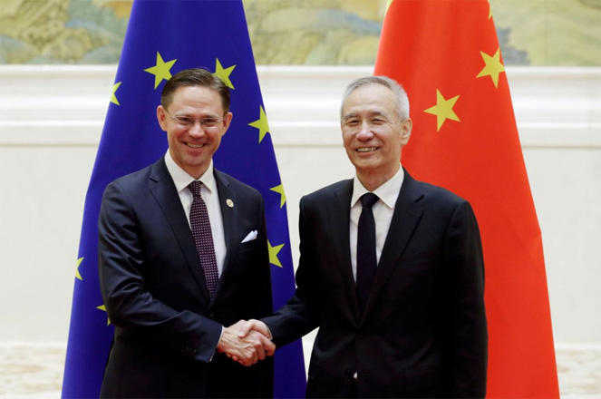 China Vice Premier Liu says China, E.U. aim to conclude talks on bilateral investment deal