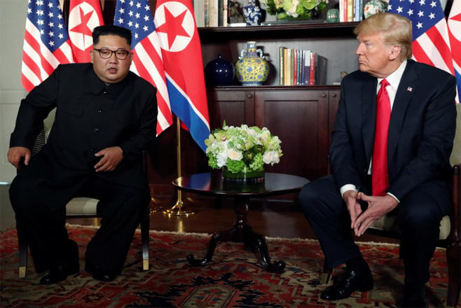 Trump says meeting with North Korea's Kim 'could happen soon'