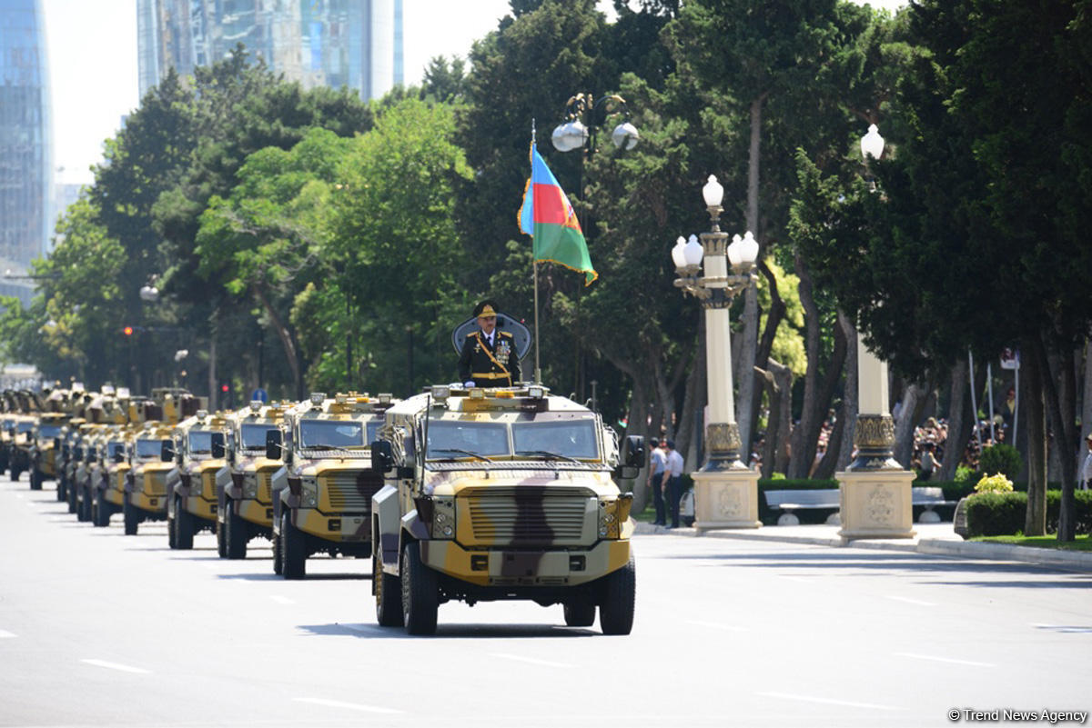 Baku hosts military parade on occasion of centenary of Azerbaijan's Armed Forces (PHOTO/VIDEO)