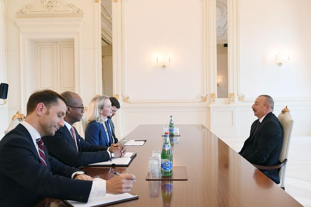 Ilham Aliyev: Azerbaijan highly appreciates US president's attitude