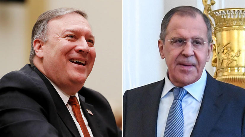 U.S., Russian FMs discuss sanctions, ties over phone