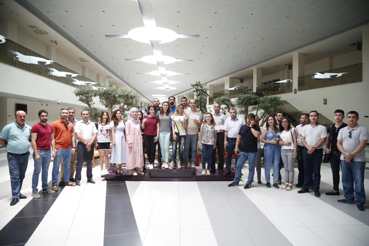 Bakcell организовала соревнования для представителей СМИ (ФОТО) - Gallery Image