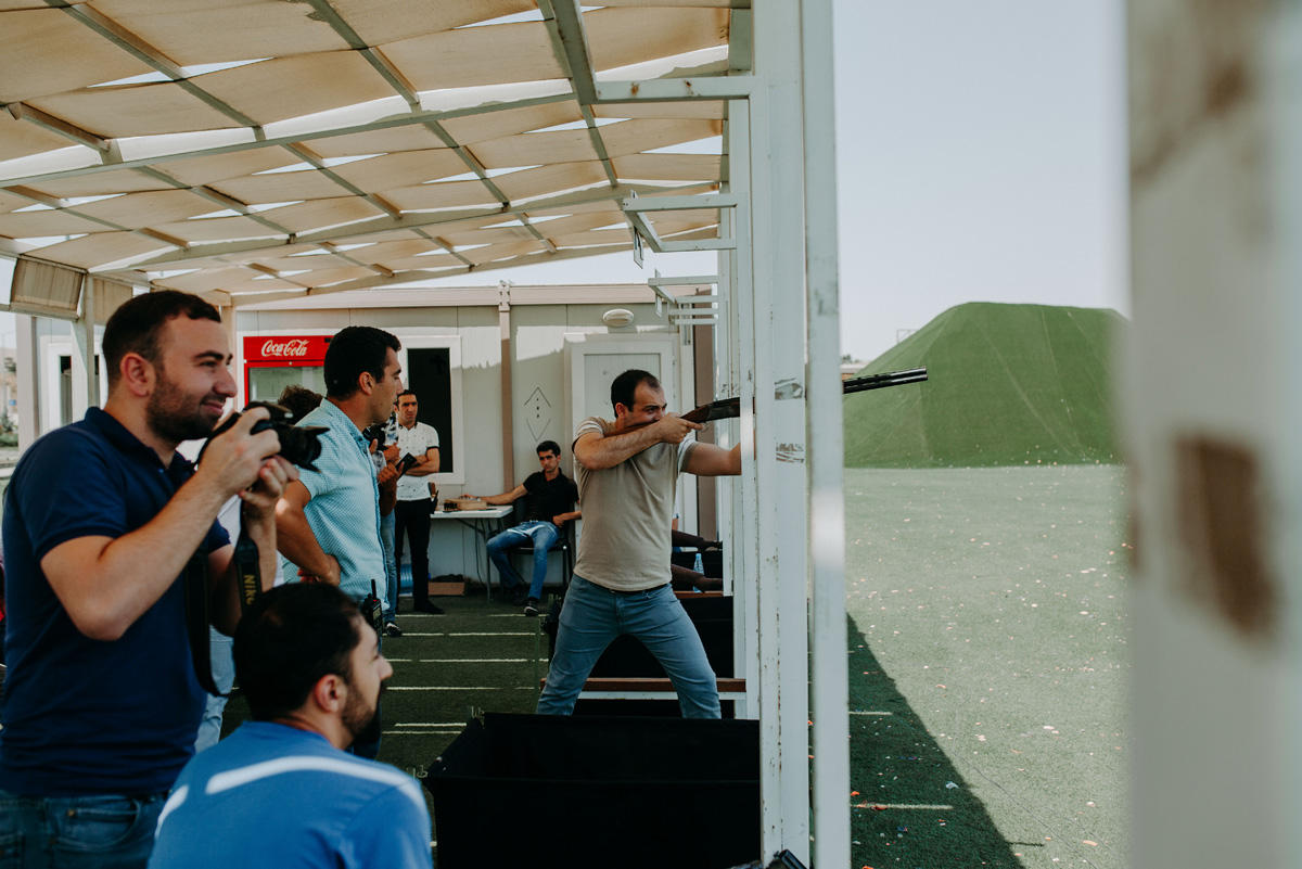 Bakcell organizes shooting competition for media representatives (PHOTO) - Gallery Image