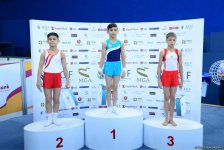 Winners of men's and women's gymnastics championships awarded in Baku (PHOTO) - Gallery Thumbnail