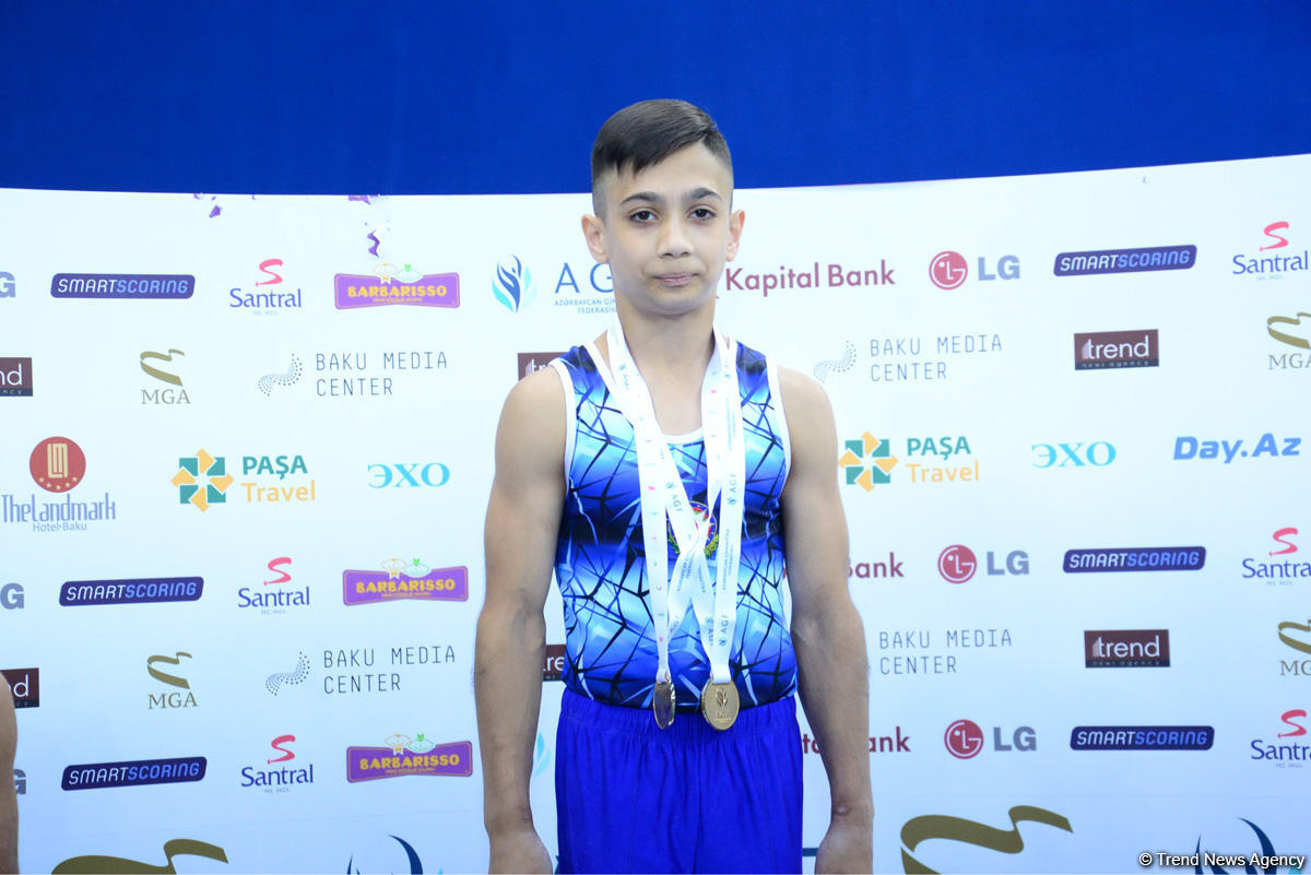 Winners of men's and women's gymnastics championships awarded in Baku (PHOTO) - Gallery Image