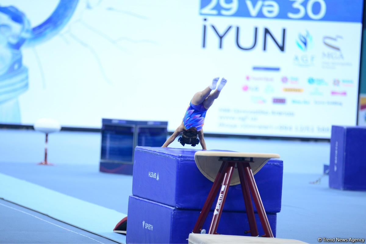 2nd day of Azerbaijan and Baku gymnastics championships kicks off (PHOTO) - Gallery Image