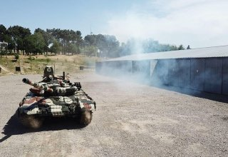 Tank units of Azerbaijani armed forces involved in exercises carry out tasks (PHOTO/VIDEO)