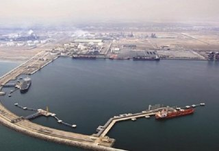 Volume of products exported from Iran's Genaveh port up