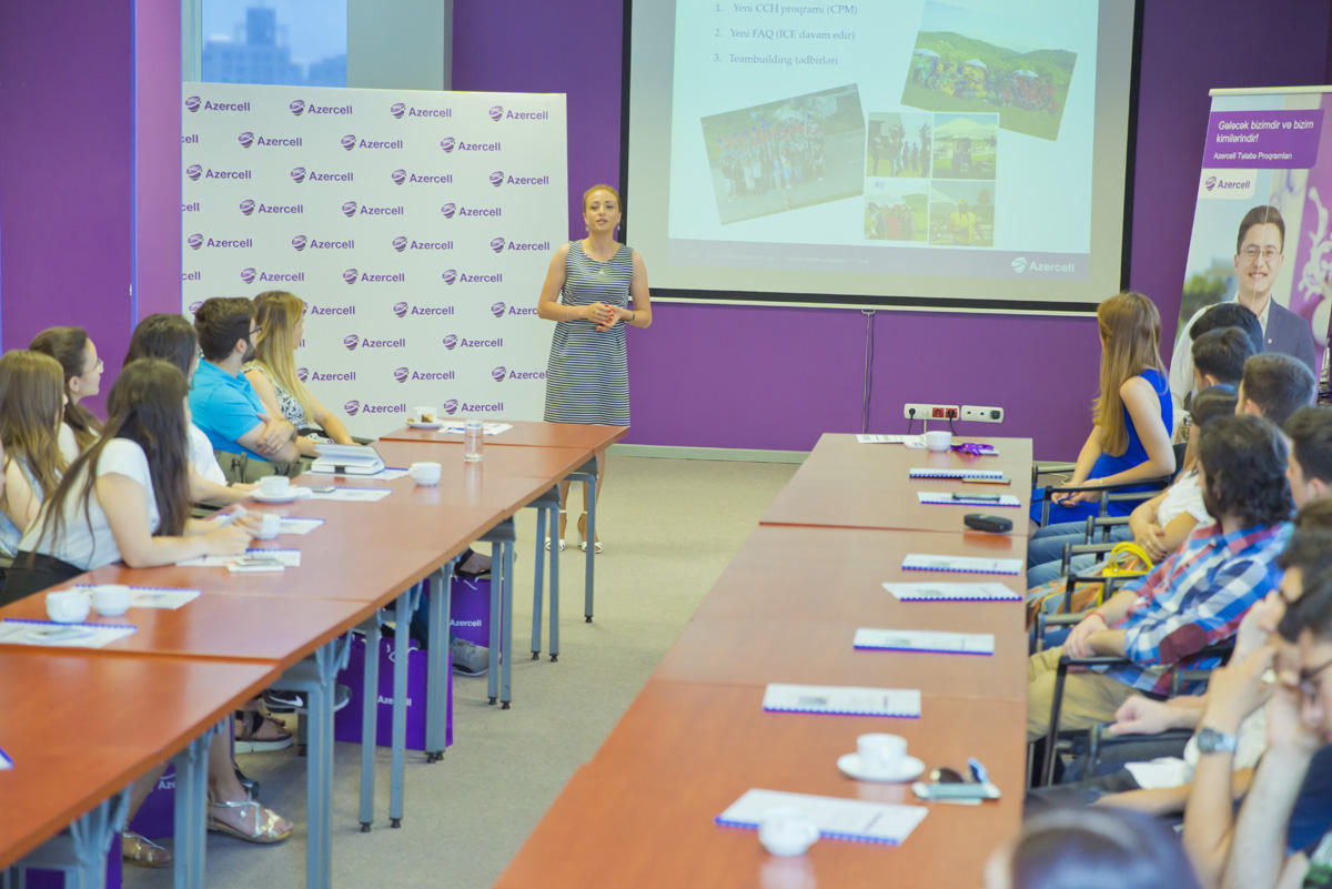 Azercell names students selected for its internship program (PHOTO) - Gallery Image