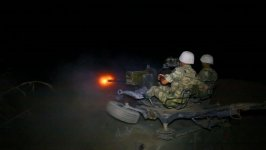 Azerbaijani army holds live-fire night time drills (PHOTO/VIDEO) - Gallery Thumbnail