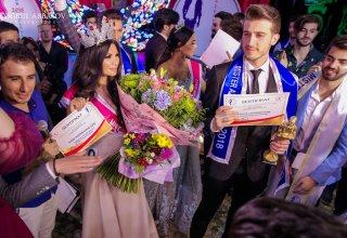 """Azərbaycanın ən yaraşıqlı oğlan və qızları - """"Miss & Mister Azerbaijan-2018""""in finalı (FOTO/VİDEO)"""