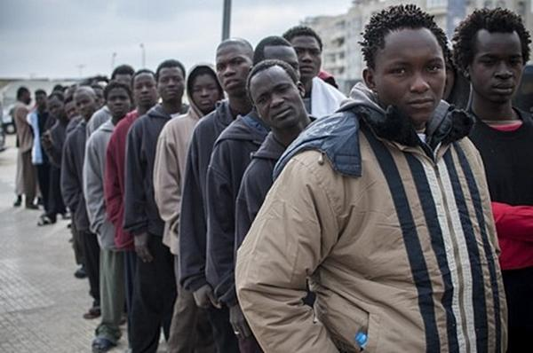 131 illegal immigrants deported from Libya