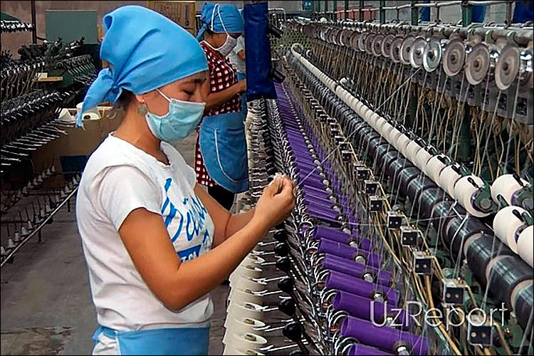 Uzbekistan's exports of textile products slightly increases during 1H2020