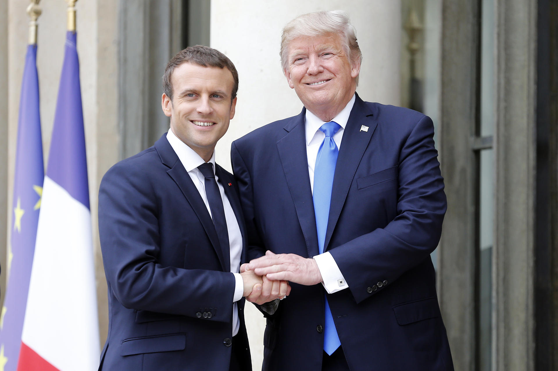 Trump agreed with Macron's offer to invite Russia to G7 Summit in US in 2020