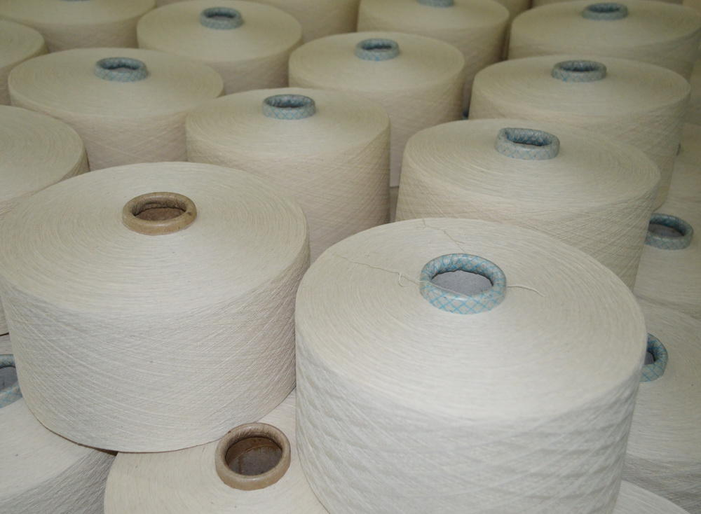 Volume of cotton yarn manufactured by Turkmen factory revealed