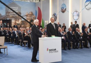 Presidents of Azerbaijan, Italy attend opening of polypropylene plant in Sumgait city (PHOTO)