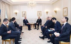 President Ilham Aliyev met with Airbus vice-president for Eurasia (PHOTO) - Gallery Thumbnail