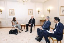 President Ilham Aliyev met with Managing Director of Wilmotte & Associes Architectes (PHOTO) - Gallery Thumbnail