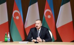 Azerbaijani, Italian presidents attend business forum in Baku (PHOTO) - Gallery Thumbnail