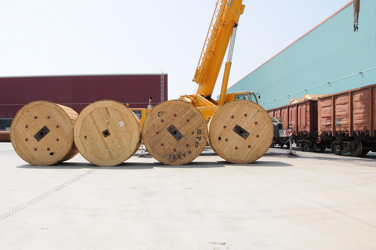 Sumgayit Technology Park supplies high voltage cable to Kazakhstan (PHOTO) - Gallery Image