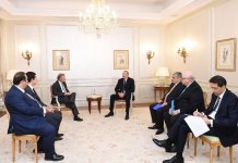 President Ilham Aliyev meets with Chief VP of Thales International (PHOTO) - Gallery Thumbnail