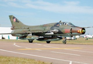 Iran unveils upgraded Sukhoi 22 fighters